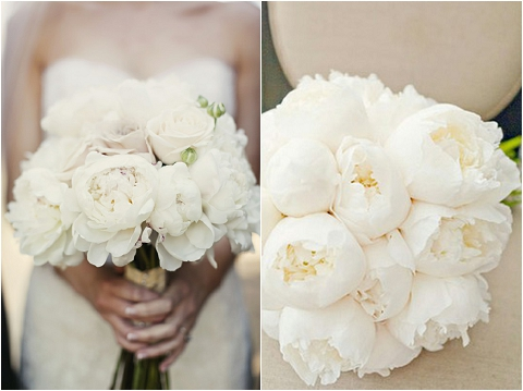 bijoux bride its all in the details wedding styling inspiration all white elegant theme peonies orchid ranunculus bouquet 2