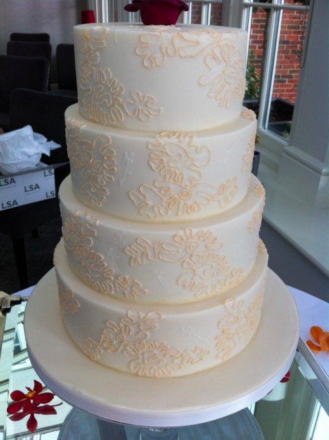 It S All In The Details Creating A Lace Effect Wedding