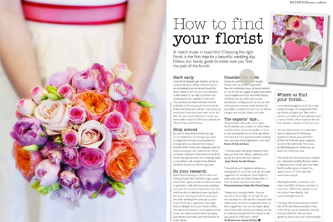 recent press featured in wedding flowers magazine bloved blog. Black Bedroom Furniture Sets. Home Design Ideas