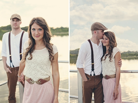 love shoot: adorable anthropologie inspired engagement ...