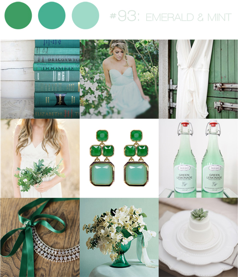bloved-uk-wedding-blog-inspiration-board-emerald-and-mint