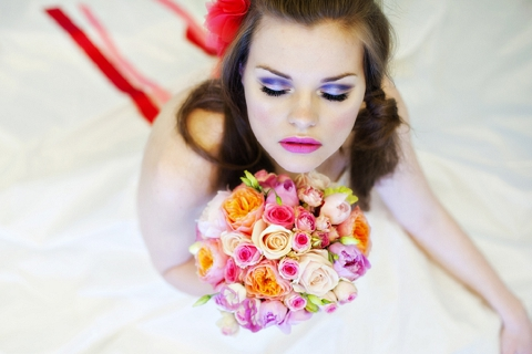 bloved-uk-wedding-blog-styled-shoot-inspiration-l-is-for-love-pink-aqua-hair-makeup-gemma-sutton