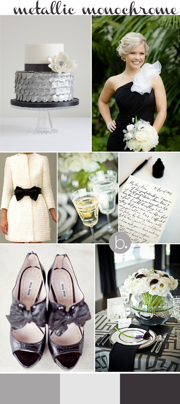 bloved-uk-wedding-blog-be-inspired-by-cakes-by-krishanthi-metallic-monochrome-black-white-silver