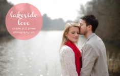 Lakeside enagement shoot by EFC Photography