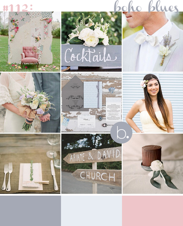 bloved-uk-wedding-blog-boho-blue-and-pink-inspiration-board