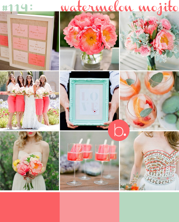 bloved-uk-wedding-blog-inspiration-watermelon-coral-pink-mint