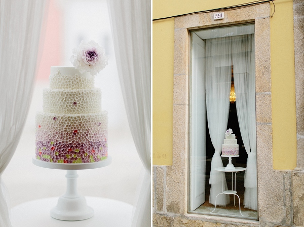 Contemporary wedding cakes inspired by Miss Dior from T Bakes