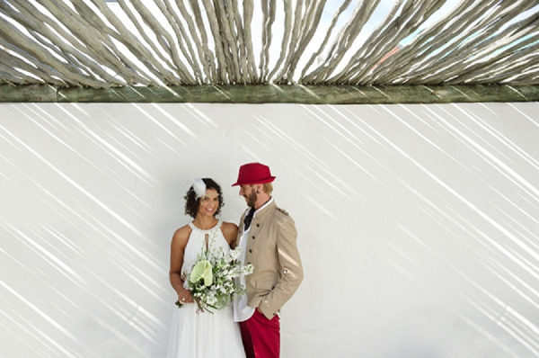 off-beat south african wedding