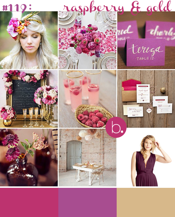 bloved-uk-wedding-blog-raspberry-gold-inspiration-2