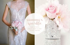 silver & blush wedding inspiration