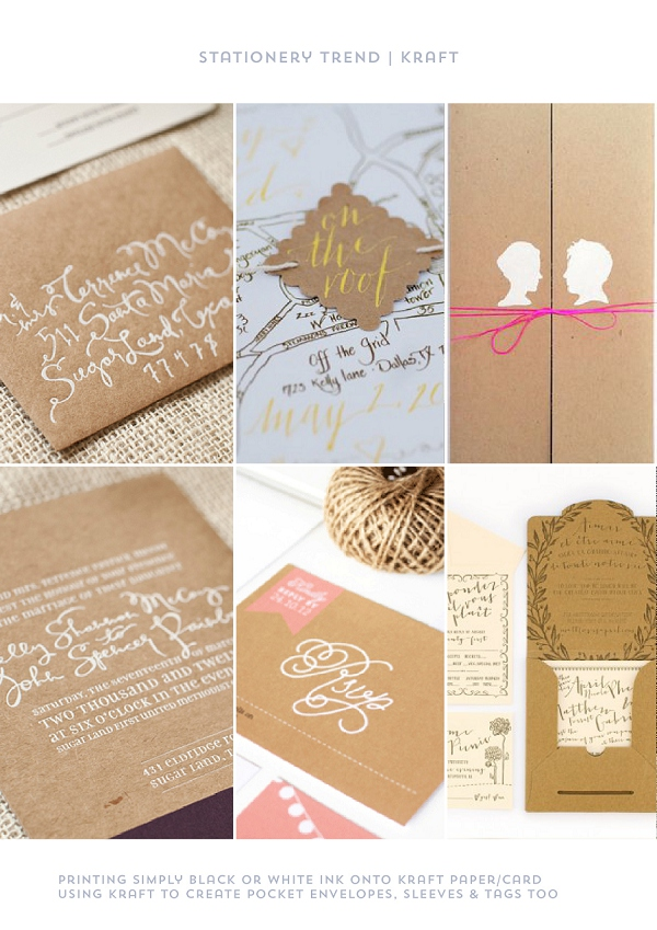 Stationery Trend Kraft by Itty Bitty & Bijou