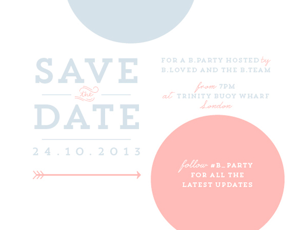 bparty save the date