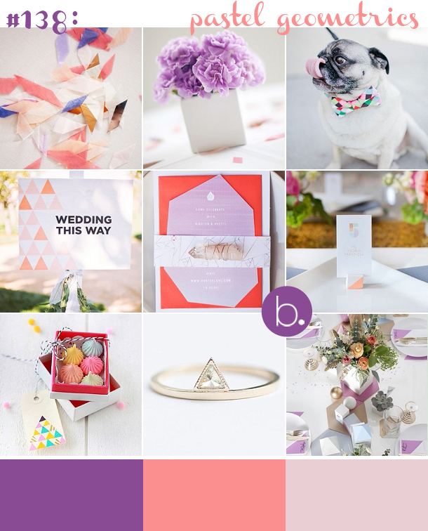 bloved-uk-wedding-blog-pastel-geometric-inspiration