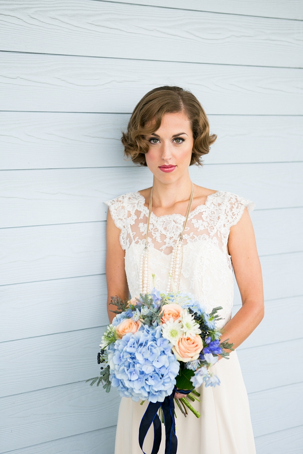 New England Wedding Fashion With A Vintage Twist