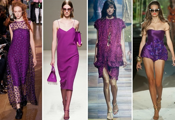 bloved-uk-wedding-blog-radiant-orchid-2014-catwalk-trend