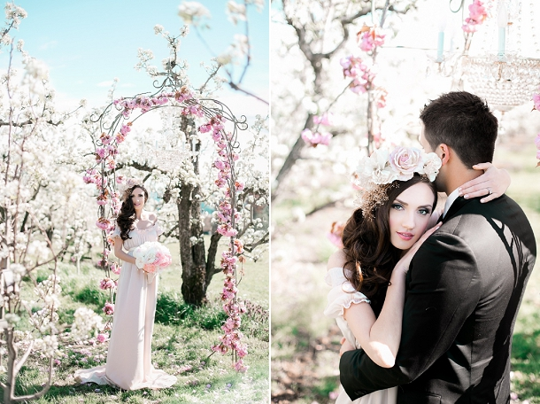 Spring Elopement Wedding Inspiration