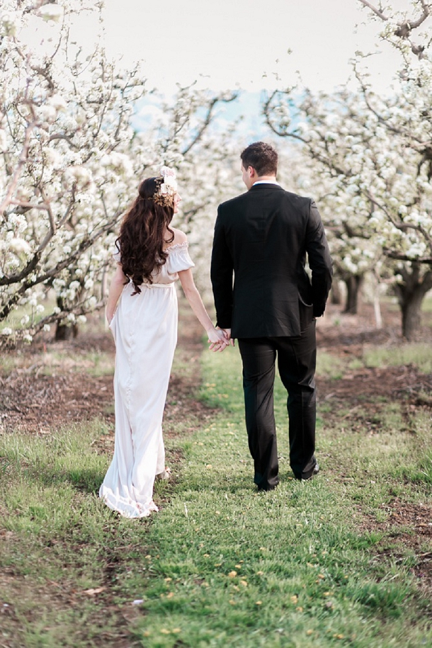 Intimate Elopement Spring Wedding Inspiration