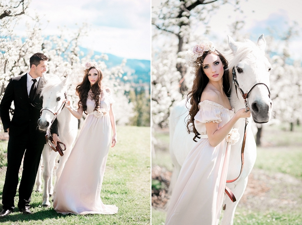 White Horse Wedding Inspiration