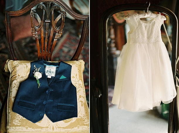 flower girl & page bou outfits