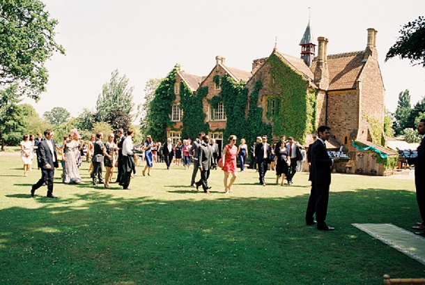 Wedding at Maunsel House