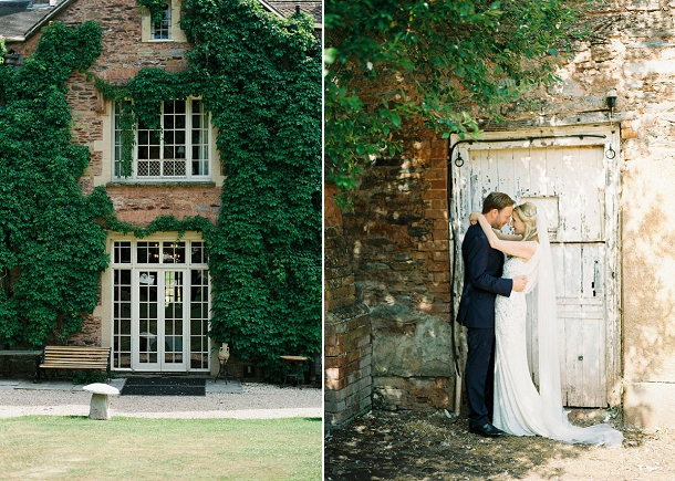 Bride & Groom at Maunsel House