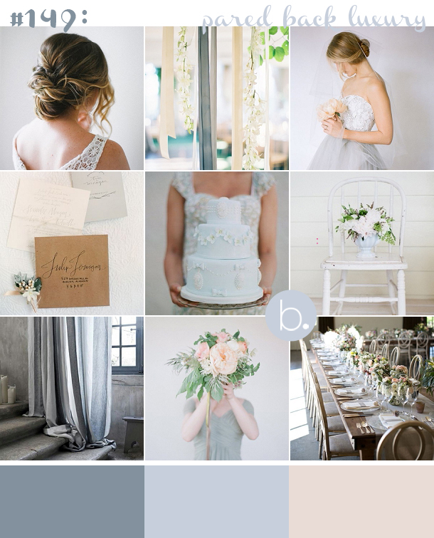 Powder Blue & Blush Wedding Palette
