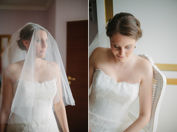 Pronovias wedding dress & veil