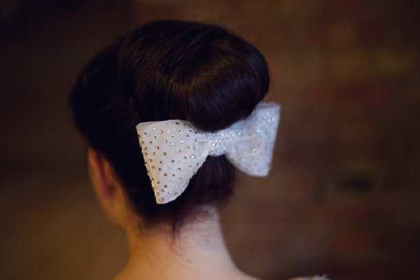Funny Face Bow Comb by Victoria Fergusson Accessories