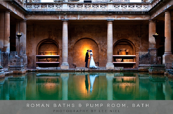 Chic Weddings at The Roman Baths and Pump Room on Coco Wedding Venues