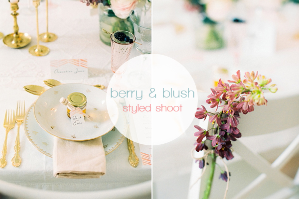 Blush & gold wedding inspiration