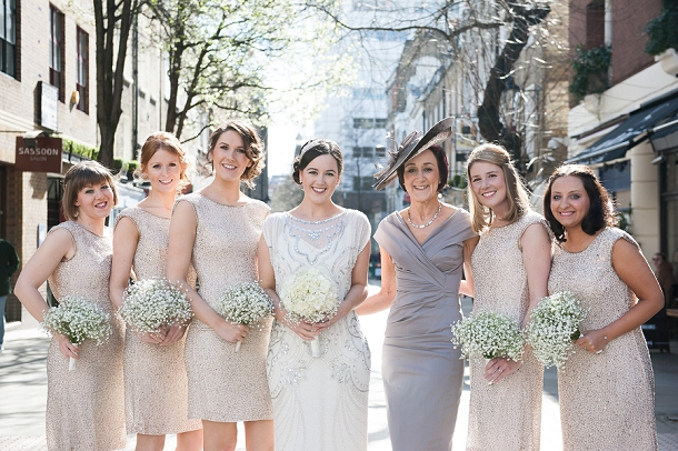 Mother Of The Groom Gift: Chic & Elegant White And Gold City Wedding At The RSA