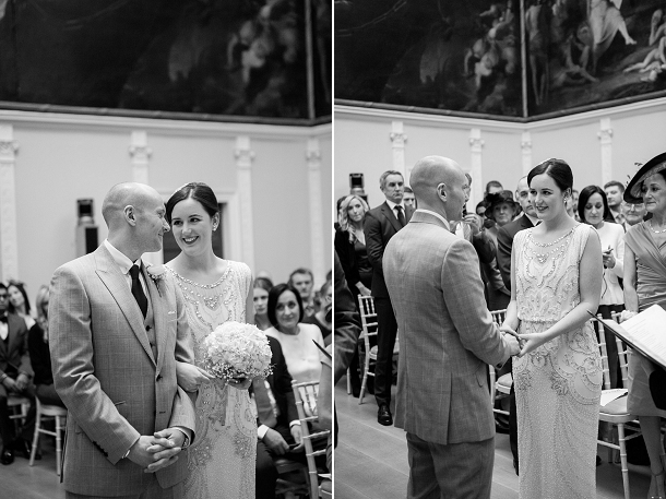 Wedding vow at the RSA