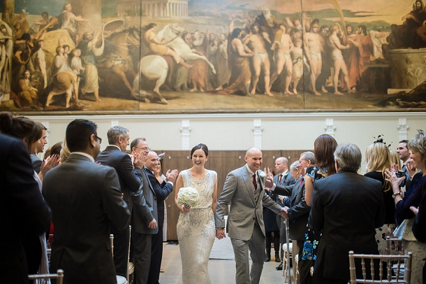 Wedding in the Great Hall at the RSA