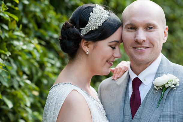 Chic All White City Wedding at the RSA by Fiona Kelly Photography