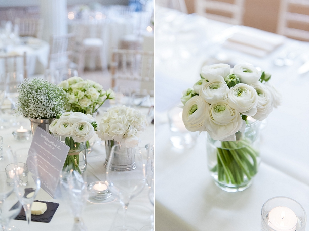 Chic Amp Elegant White And Gold City Wedding At The Rsa