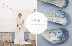 Indigo Ikat Beach Wedding Ideas
