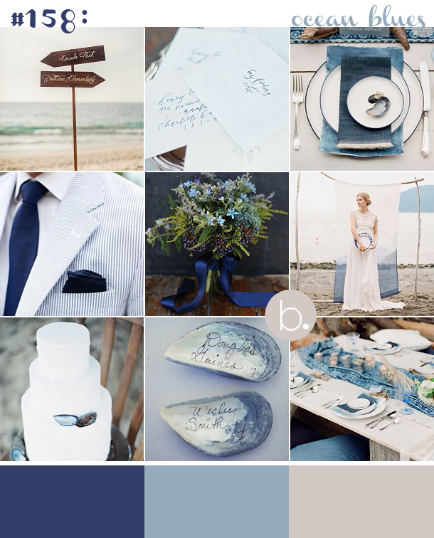 blue beach wedding ideas new england style