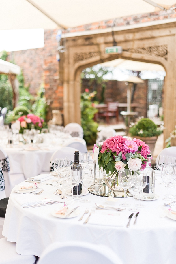 Wedding reception at The Roof Gardens