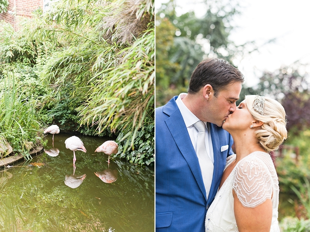 Flamingo theme wedding