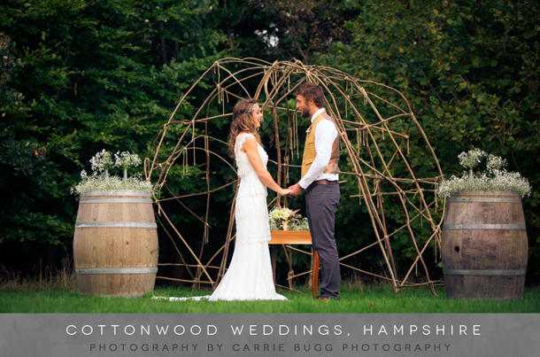 Cottonwood Hampshire Wedding Venue