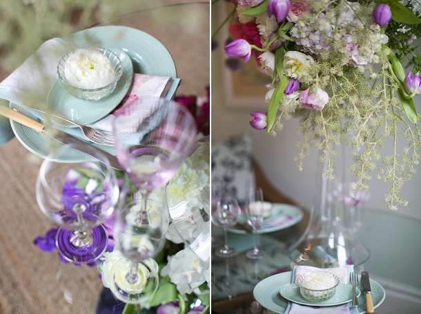 Modern romantic sweetheart table floral design & styling with Fleur le Cordeur on www.blovedweddings.com