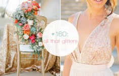 orange, gold, glitter wedding colour palette