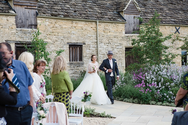 Outdoor ceremony at Caswell House