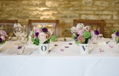 top table country wedding decor