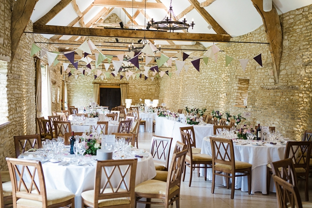 Caswell House Barn Wedding Reception