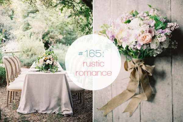 lilac, blush and sage summer wedding inspiration