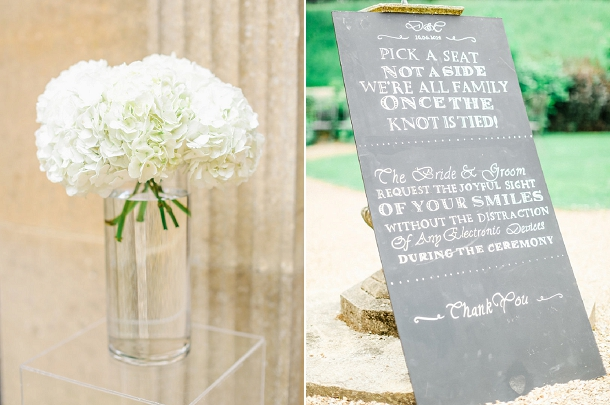 Danielle & Christiaan's Contemporary Classic wedding at Coombe Lodge with Chevrons & Succulents by Louise Beukes Styling and Belle & Beau Photography on www.blovedweddings.com