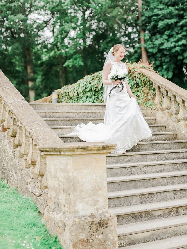 First look by Belle & Beau Photography