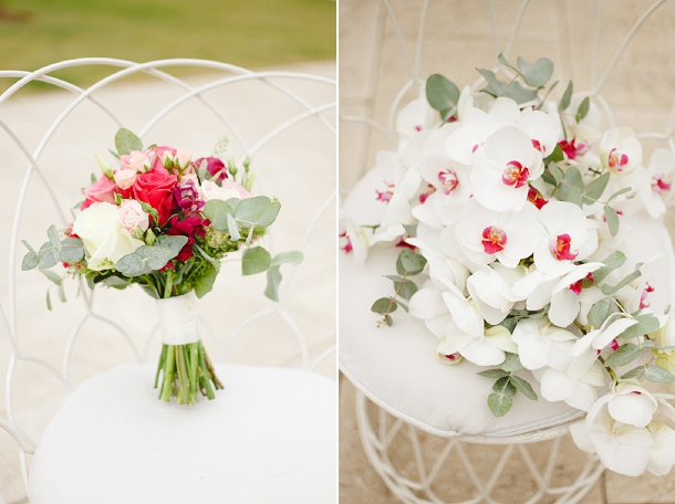 Contemporary & Elegant Wedding at Kew Gardens Cottage with berry shades and blossoms by Claire Graham Photography on www.blovedweddings.com