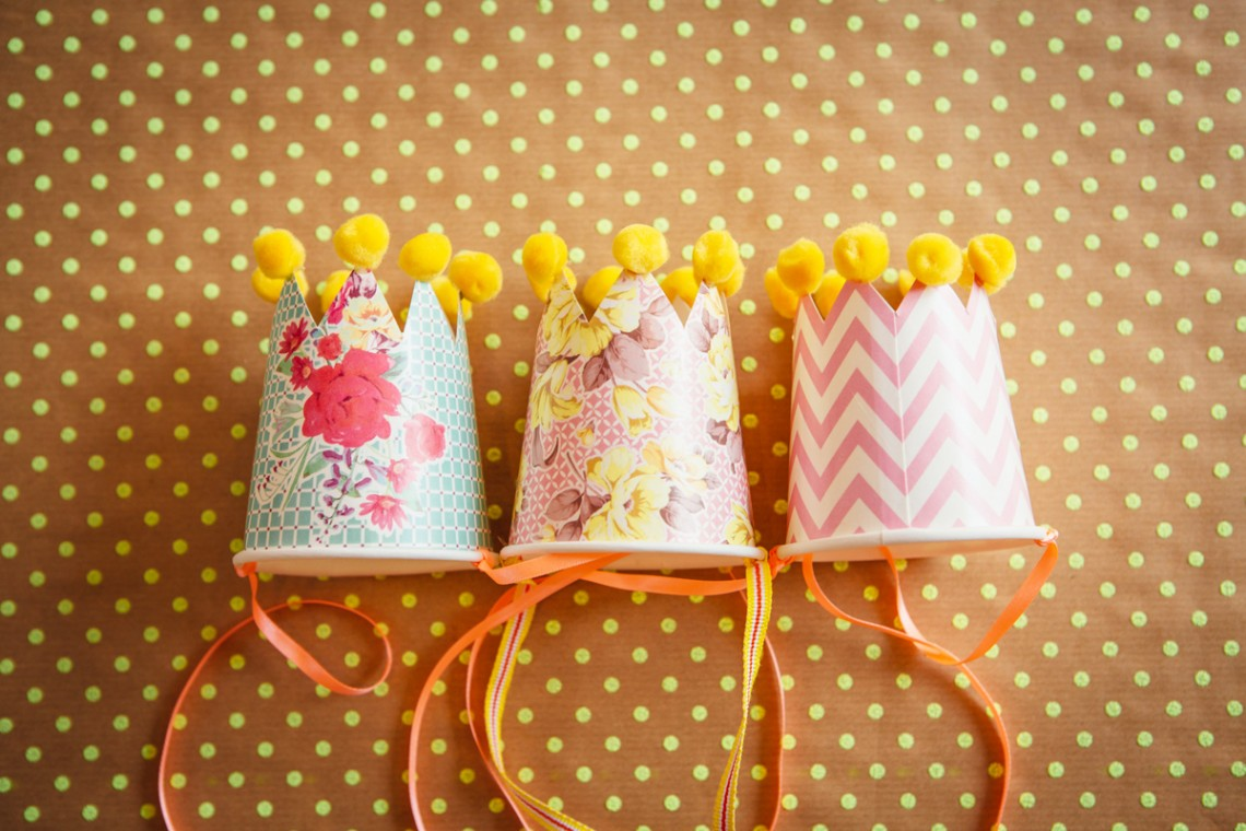 Children's Party Hat DIY Tutorial
